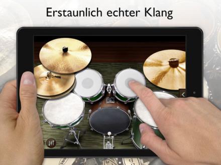 Screenshot von Schlagzeug