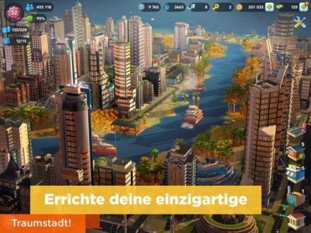 Screenshot von SimCity BuildIt