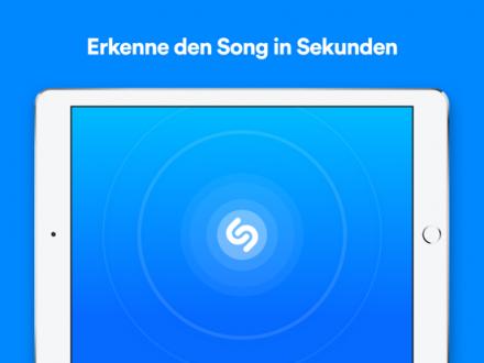 Screenshot von Shazam