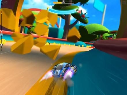 Screenshot von Rocket Cars