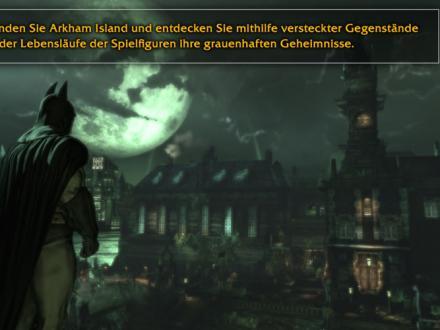 Screenshot von Batman Arkham Asylum