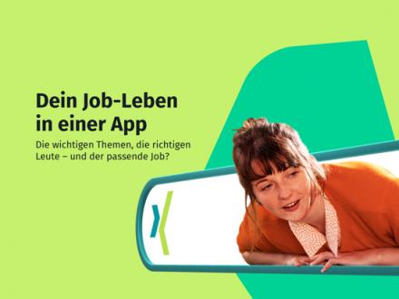 Screenshot von XING – Ihr Business Netzwerk