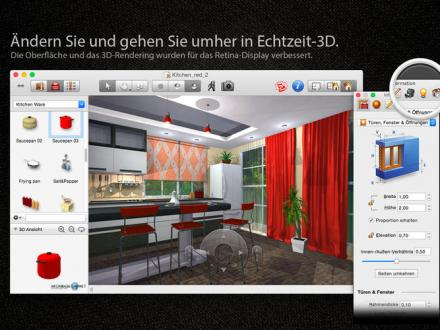 Screenshot von Live Interior 3D Pro Edition