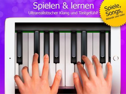 Screenshot von Echte Klavier