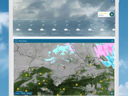 Screenshot von WetterOnline Pro