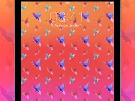 Screenshot von Hintergrundbilder Blurred – Anpassbare Hintergründe und Wallpaper
