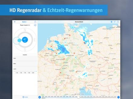 Screenshot von RainToday - HD Regenradar