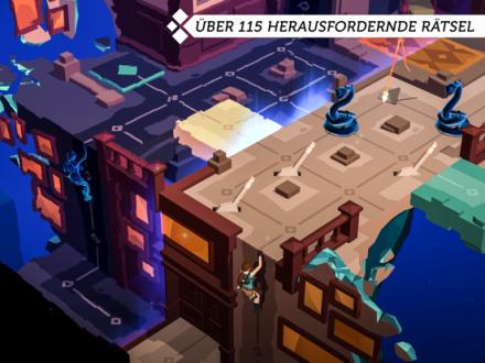 Screenshot von Lara Croft GO