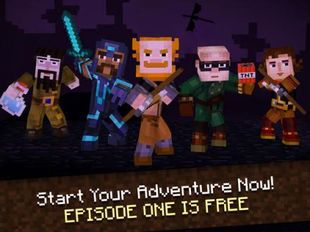 Screenshot von Minecraft: Story Mode