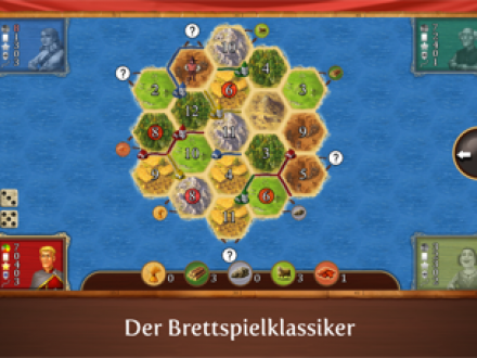 Screenshot von Catan Classic
