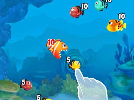 Screenshot von Fishdom