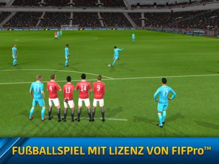 Screenshot von Dream League Soccer 2017