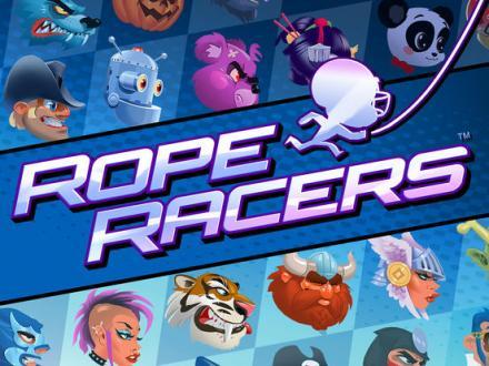 Screenshot von Rope Racers