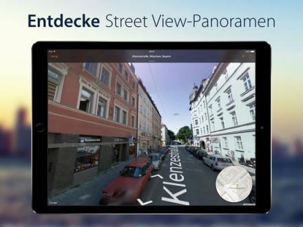 Screenshot von Streets 3 - Die Street View App