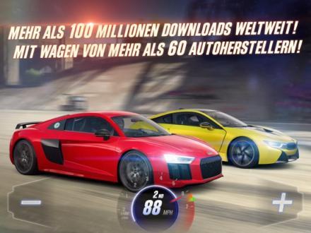 Screenshot von CSR Racing 2