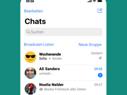 Screenshot von WhatsApp Messenger