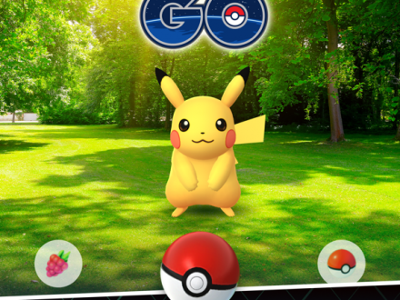 Screenshot von Pokémon GO