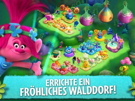 Screenshot von Trolls: Crazy Party Forest!