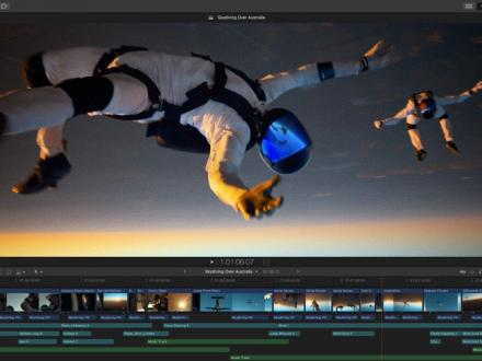 Screenshot von Final Cut Pro
