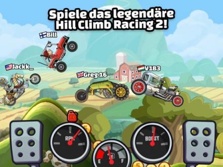 Screenshot von Hill Climb Racing 2