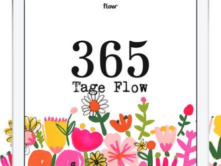 Screenshot von flow Kalender 2017 - Zitate und Inspiration