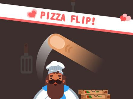 Screenshot von Pizza Flip