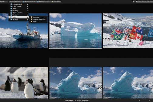 Screenshot von Aperture