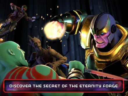 Screenshot von Marvel's Guardians of the Galaxy TTG