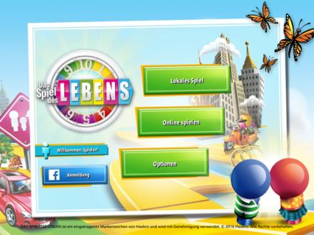 Screenshot von Das Spiel des Lebens