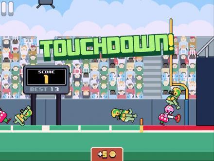 Screenshot von Touchdowners