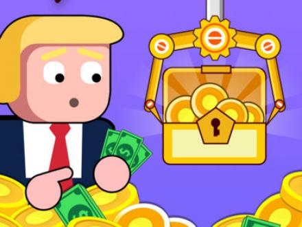 Screenshot von Make Money - Donald's coins, idle & click game