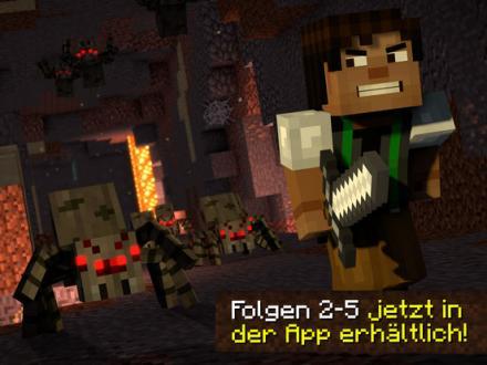 Screenshot von Minecraft: Story Mode - Season Two