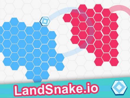 Screenshot von Land Snake.io