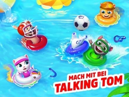 Screenshot von Talking Tom Pool