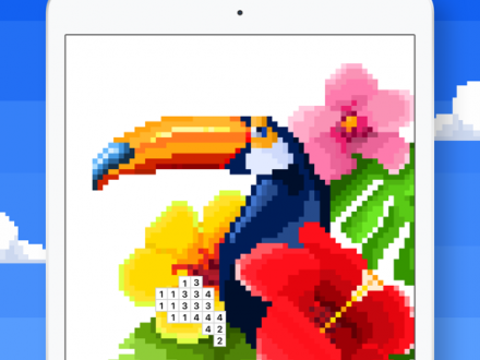 Screenshot von Pixel Art - Malen nach Zahlen