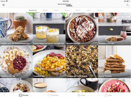 Screenshot von Deliciously Ella