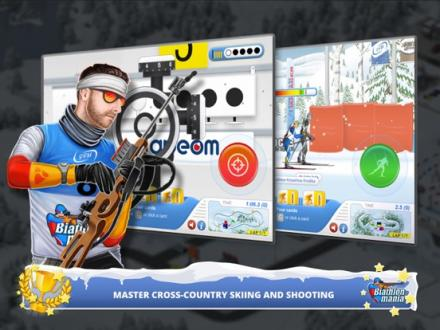 Screenshot von Biathlon Mania