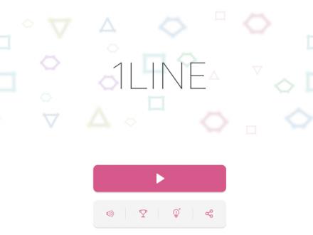 Screenshot von 1LINE one-stroke puzzle game