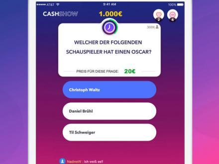 Screenshot von Cash Show - Gewinne Geld!