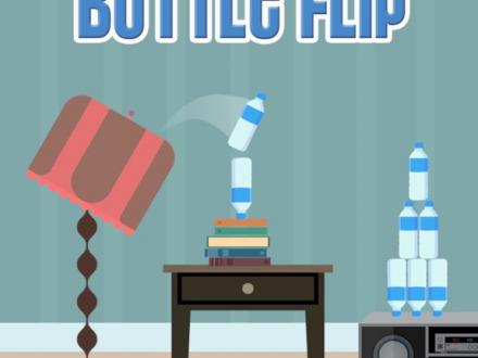 Screenshot von Impossible Bottle Flip