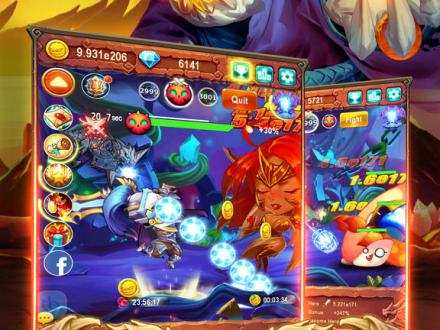 Screenshot von Mega Monsters Mobile