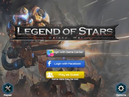 Screenshot von Legend of Stars: Galaxy War
