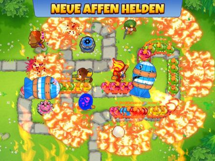 Screenshot von Bloons TD 6