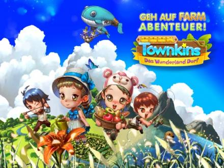 Screenshot von Townkins