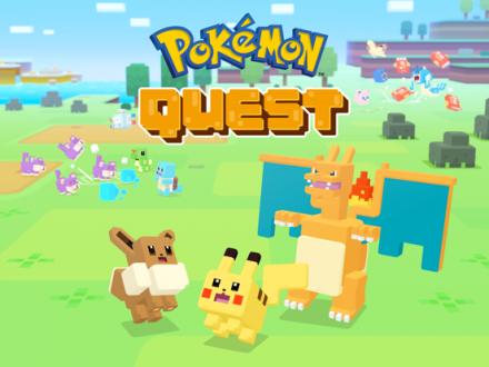 Screenshot von Pokémon Quest