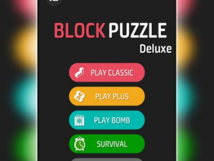 Screenshot von Puzzle Block Deluxe