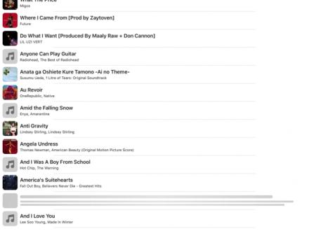 Screenshot von Musica offline hören music