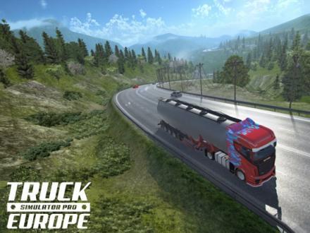 Screenshot von Truck Simulator PRO Europe