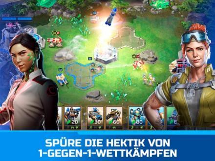 Screenshot von Command & Conquer: Rivals PVP