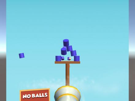 Screenshot von Shoot Balls Game